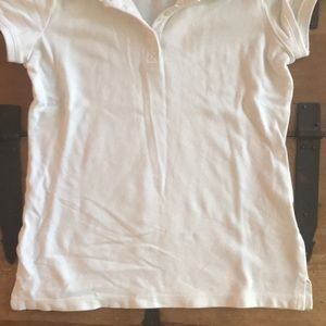 Old Navy Shirts & Tops - Old Navy Girls Size Large (10-12) White Polo Shirt